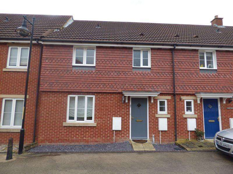 3 Bedrooms Terraced House for sale in Deyley Way, Ashford