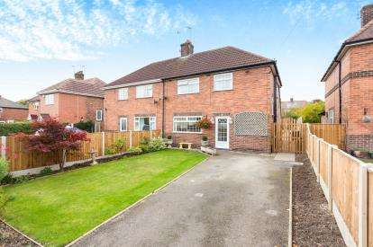 3 Bedrooms Semi Detached House for sale in Church Lane, Brinsley, Nottingham