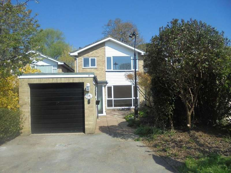 3 Bedrooms Detached House for sale in 8 Jason Close, Redhill, Surrey, RH1 5HG