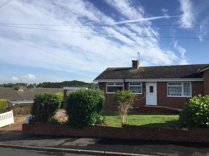 2 Bedrooms Semi Detached Bungalow for sale in Elizabeth Road, Exmouth