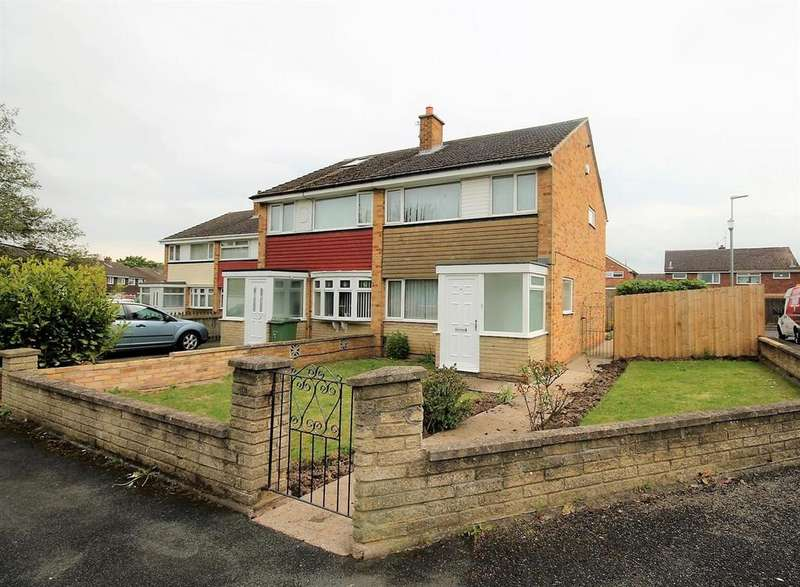 3 Bedrooms Semi Detached House for sale in Briardene Court, Stockton-On-Tees
