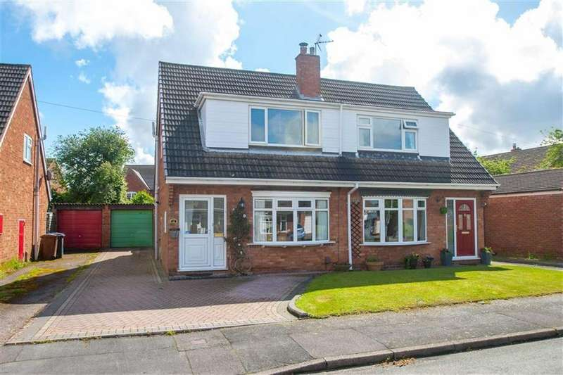 2 Bedrooms Semi Detached House for sale in Pass Avenue, Whittington, Lichfield