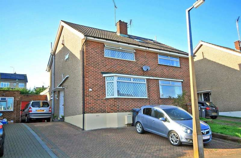 3 Bedrooms Semi Detached House for sale in Clarks Close, Ware
