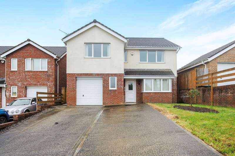 4 Bedrooms Detached House for sale in Pearson Way, Neath