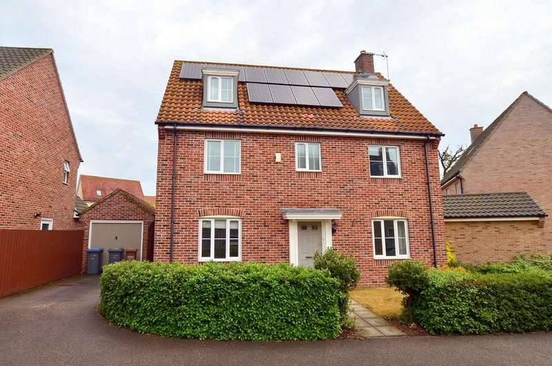 5 Bedrooms Detached House for sale in Evans Drift, Kesgrave