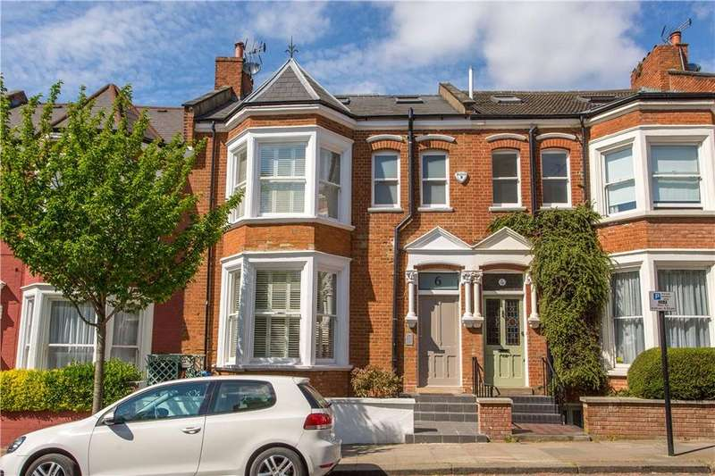 5 Bedrooms Terraced House for sale in Pandora Road, London, NW6