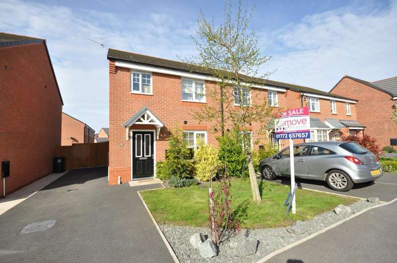 3 Bedrooms Semi Detached House for sale in Buttercup Way, Warton, Preston, Lancashire, PR4 1EQ