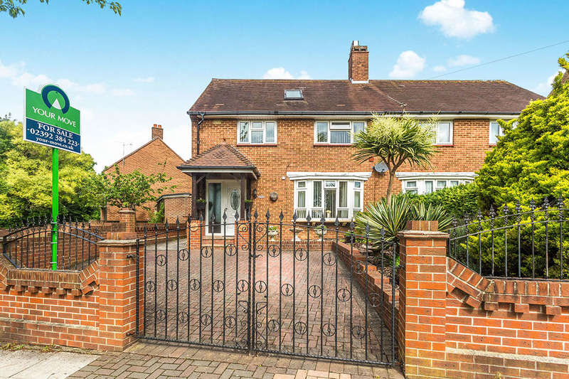 3 Bedrooms Semi Detached House for sale in Allaway Avenue, Portsmouth, PO6