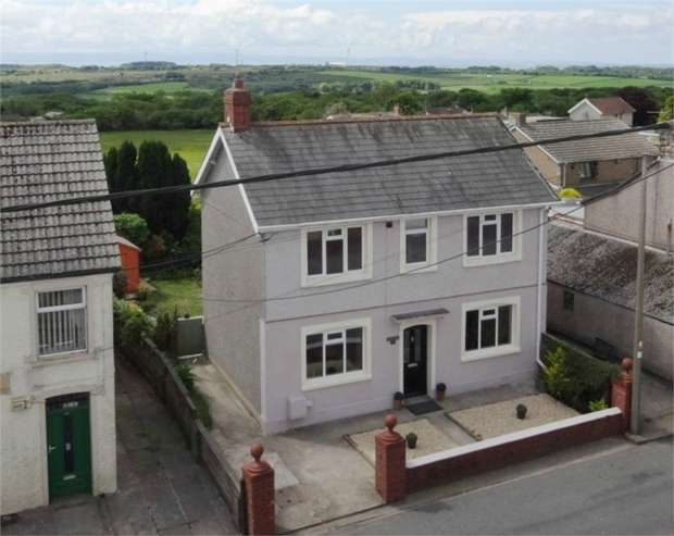 3 Bedrooms Detached House for sale in Cefn Road, Cefn Cribwr, Bridgend, Mid Glamorgan