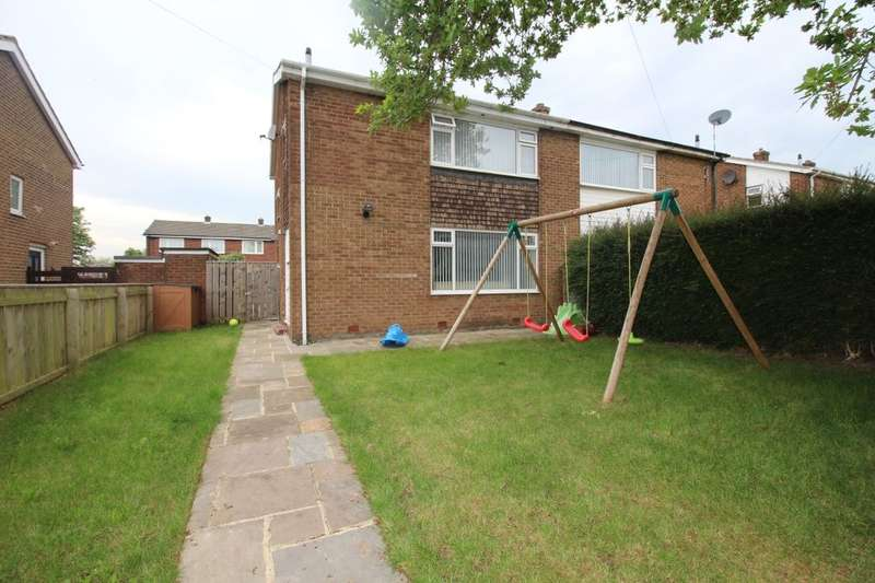 3 Bedrooms Semi Detached House for sale in Stephenson Way, Blaydon-On-Tyne, NE21