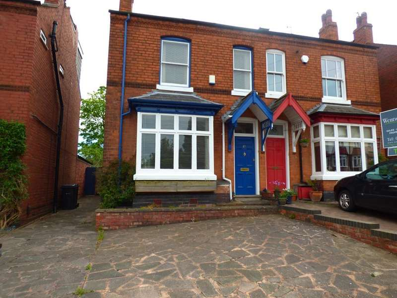 4 Bedrooms Semi Detached House for rent in Park Hill Road, Harborne, Birmingham, B17 9HH