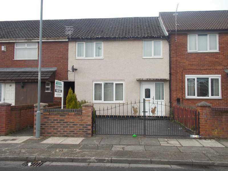 3 Bedrooms Terraced House for sale in Coniston Close, Tower Hill