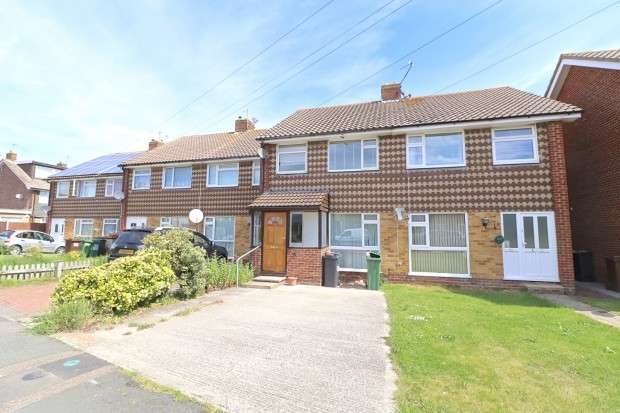 3 Bedrooms Terraced House for sale in Wilton Avenue, Eastbourne, BN22