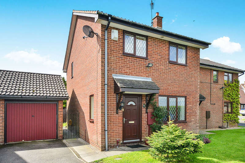 3 Bedrooms Semi Detached House for sale in School Close, Westhouses, Alfreton, DE55