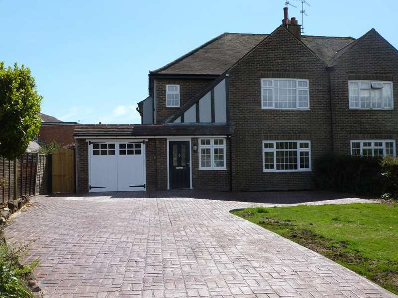 4 Bedrooms Semi Detached House for sale in GOSSMAMER LANE, ALDWICK, BOGNOR REGIS PO21