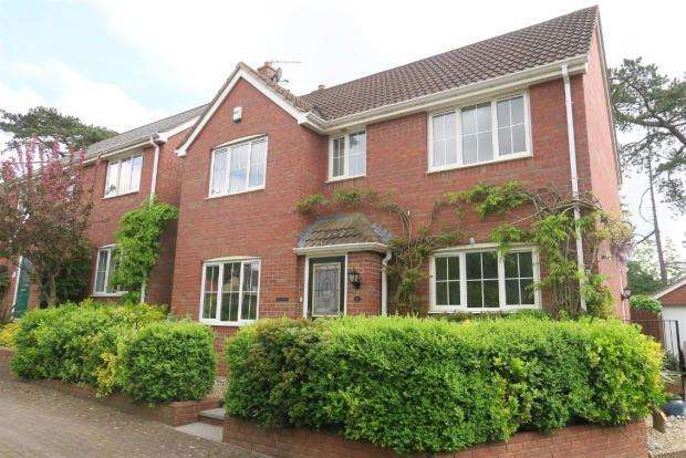 4 Bedrooms Detached House for sale in Aveline Court, Cotford St Luke, Taunton TA4