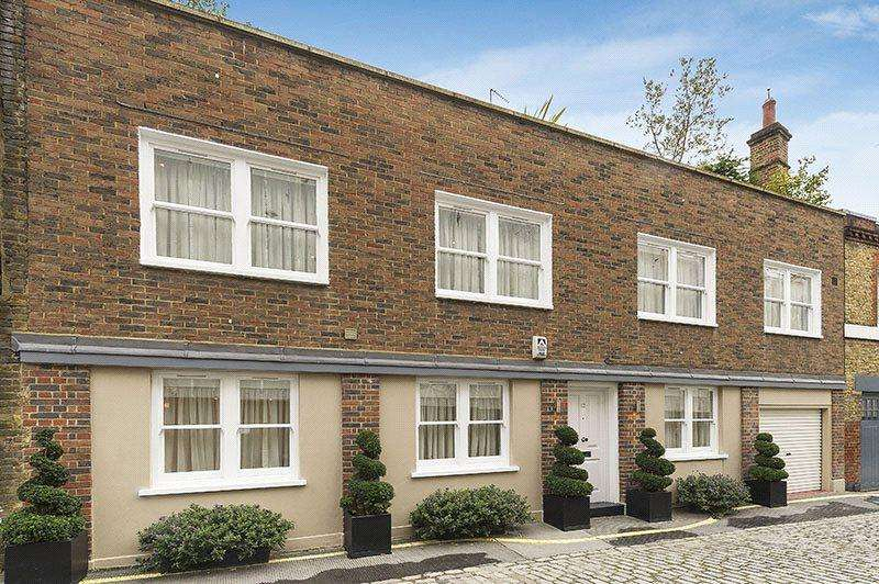 3 Bedrooms Mews House for sale in Beaumont Mews, Marylebone, London, W1G