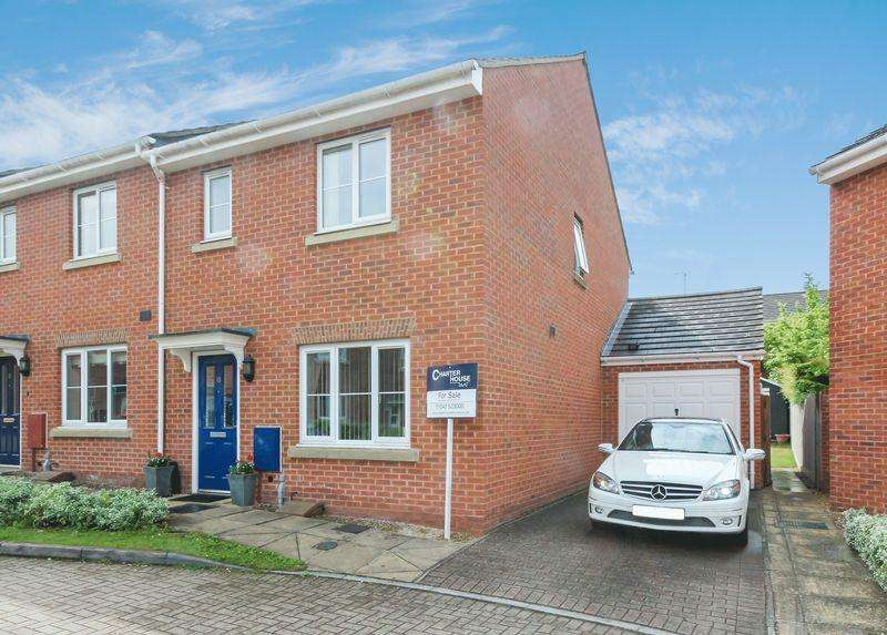 3 Bedrooms Terraced House for sale in Dymock Walk, Cheltenham, Gloucestershire GL52 5GE