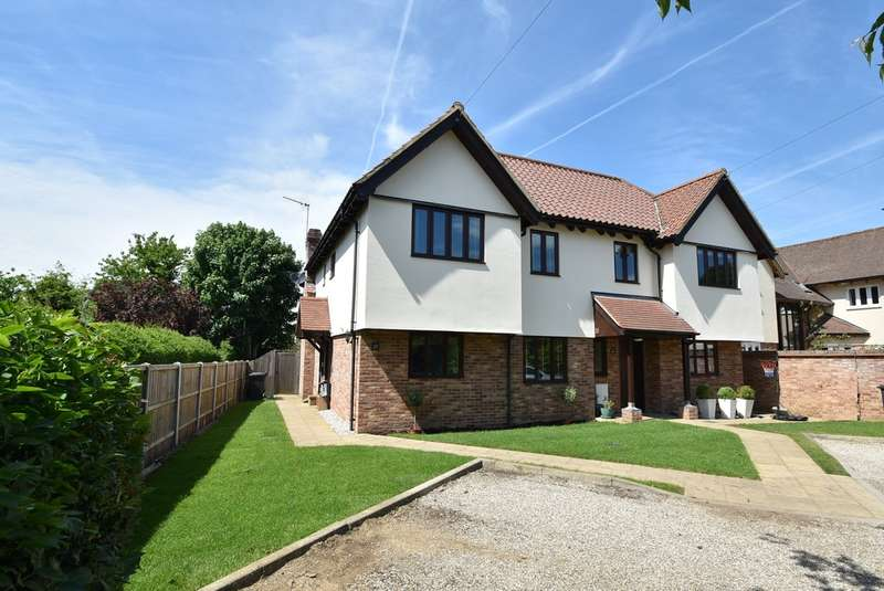 4 Bedrooms Semi Detached House for sale in Thornfield Road, Bishop's Stortford