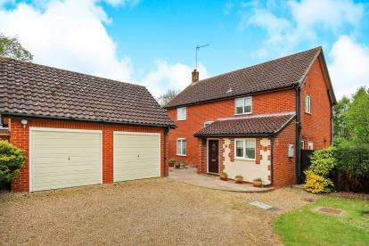 4 Bedrooms Detached House for sale in Rickinghall, Diss, Suffolk