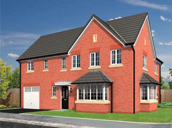 4 Bedrooms Detached House for sale in Plot 26, The Whitemoor, The Limes, Barton, Preston, Lancashire, PR3 5DQ