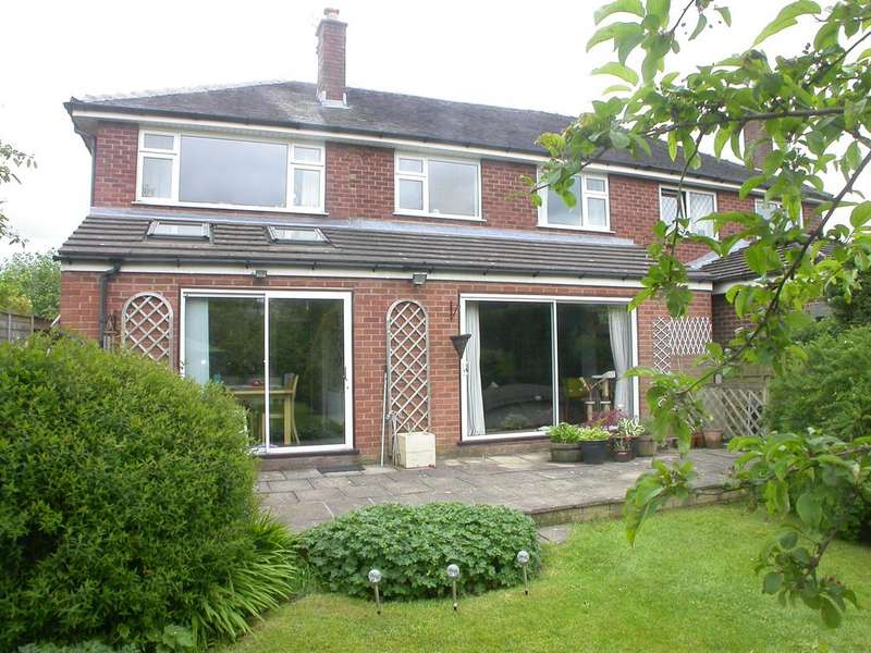 4 Bedrooms Semi Detached House for sale in POYNTON (BROOKFIELD AVENUE)