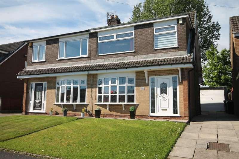 3 Bedrooms Semi Detached House for sale in Lichfield Close, Farnworth, Bolton, BL4 0NH