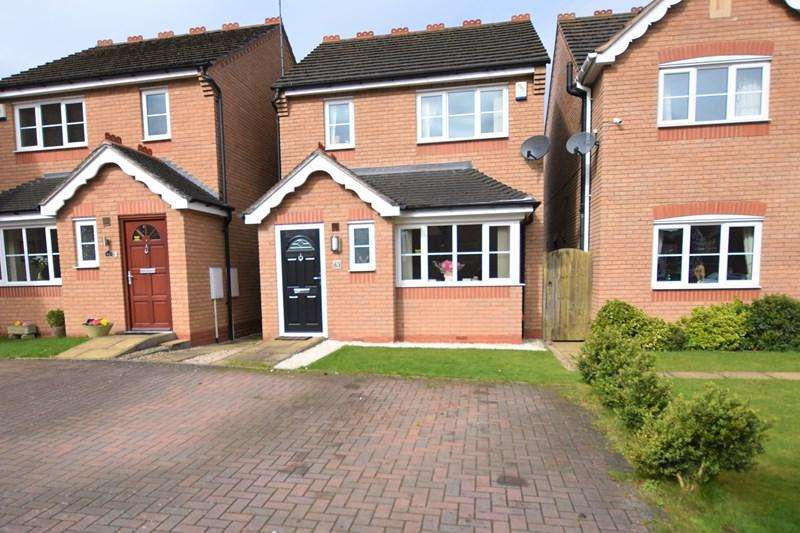 3 Bedrooms Detached House for sale in Belfry Drive, Wollaston, Stourbridge