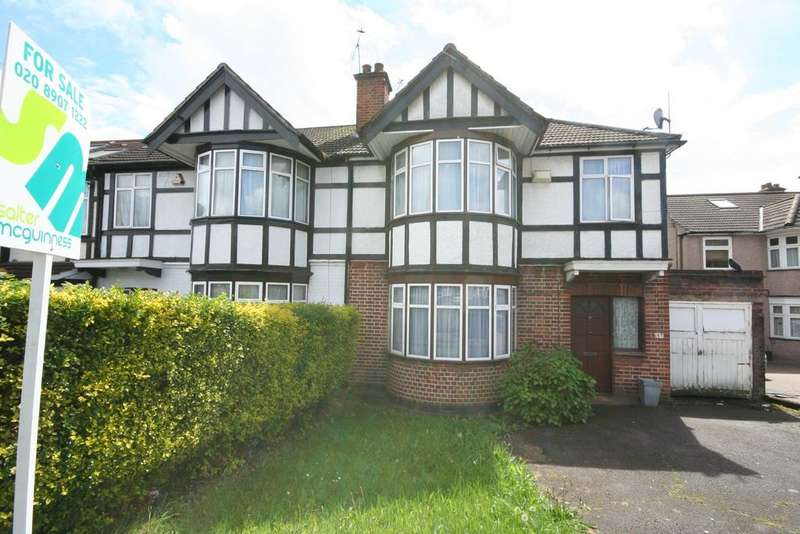 3 Bedrooms Semi Detached House for sale in Christchurch Avenue, Kenton HA3