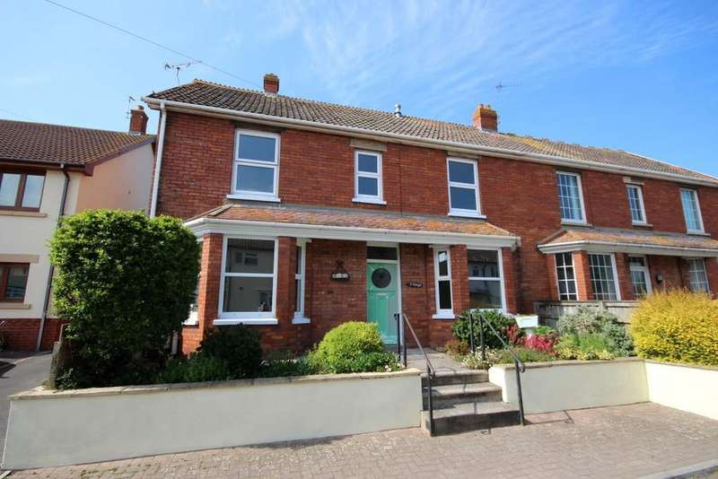 4 Bedrooms Semi Detached House for sale in Whitehall, Watchet TA23
