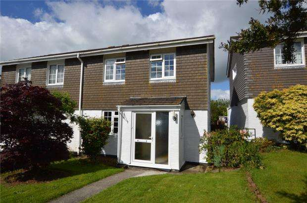 3 Bedrooms Semi Detached House for sale in Eddystone Rise, Liskeard, Cornwall