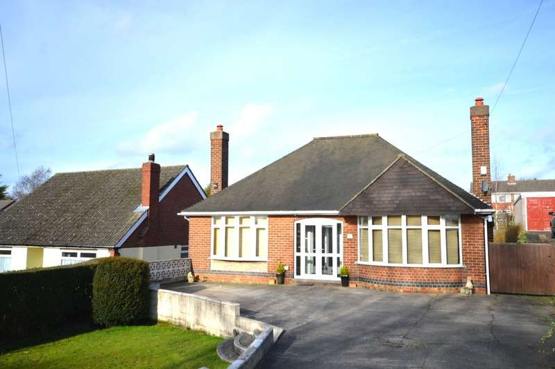 3 Bedrooms Detached Bungalow for sale in Union Road, Swadlincote, DE11