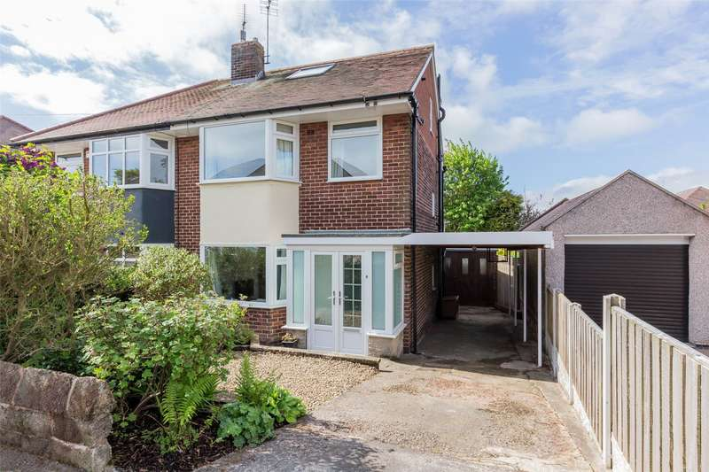 4 Bedrooms Semi Detached House for sale in Barncliffe Drive, Fulwood, Sheffield, S10