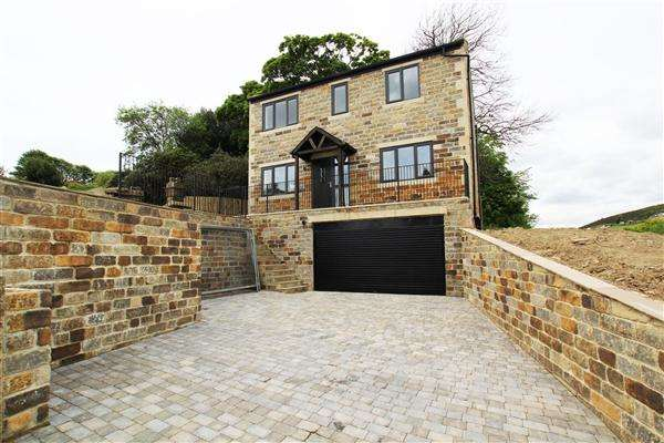 3 Bedrooms Detached House for sale in The Gate House, Moor End Road, Halifax