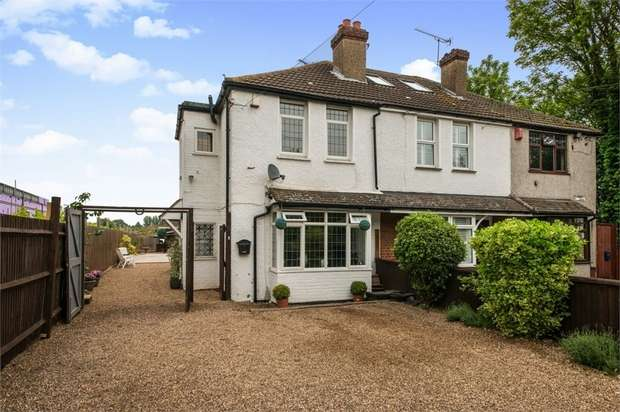 3 Bedrooms End Of Terrace House for sale in Leydenhatch Lane, Swanley, Kent