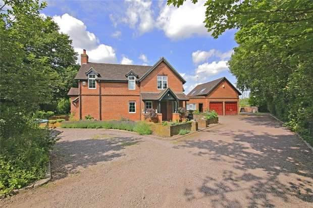 4 Bedrooms Detached House for sale in Harper Lane, Shenley, Radlett, Hertfordshire