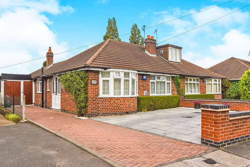 3 Bedrooms Semi Detached Bungalow for sale in Sharpland, LEICESTER, LE2