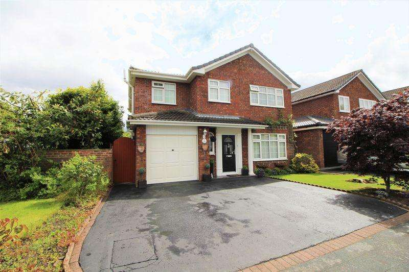4 Bedrooms Detached House for sale in Orston Crescent, Spital Bebington