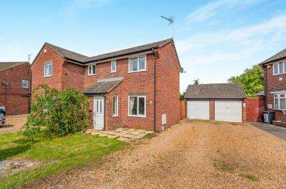 2 Bedrooms Semi Detached House for sale in Churchfield Court, Peterborough, Cambridgeshire