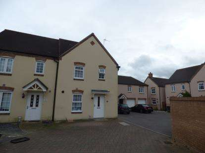 3 Bedrooms Semi Detached House for sale in Havisham Drive, Haydon End, Swindon, Wiltshire