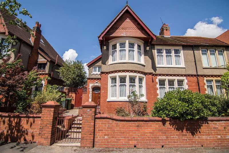 4 Bedrooms Semi Detached House for sale in Dorchester Avenue, Penylan, Cardiff