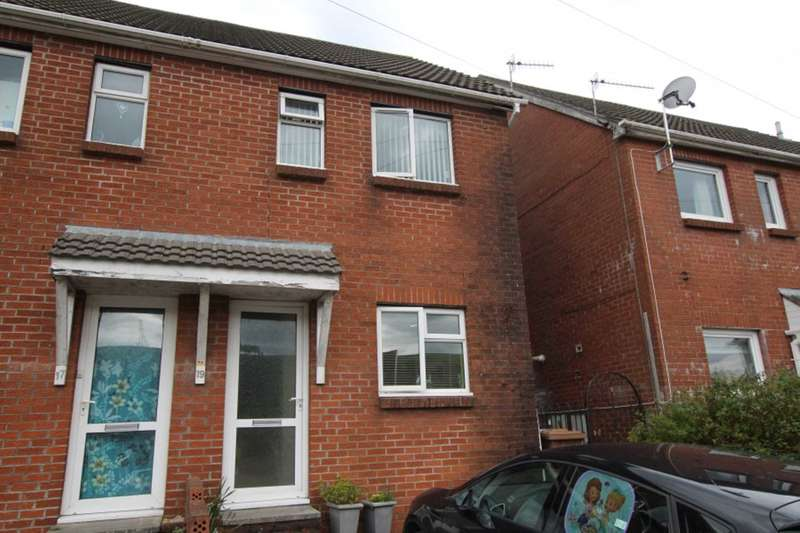 3 Bedrooms Semi Detached House for sale in Stanley Street, Senghenydd, Caerphilly CF83 4HS