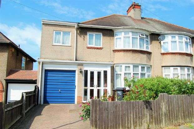 4 Bedrooms Semi Detached House for sale in Bush Hill, The Headlands, Northampton NN3 2PF