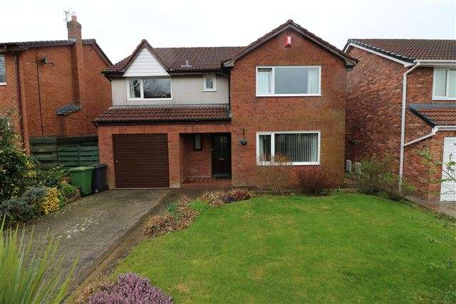 4 Bedrooms Detached House for sale in Turnberry Way, Carlisle, Cumbria, CA3 0QL