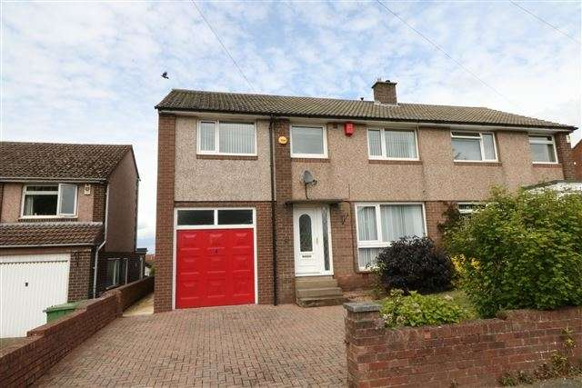 4 Bedrooms Semi Detached House for sale in High Meadow, Carlisle, Cumbria, CA2 7PZ