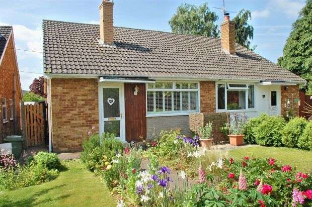3 Bedrooms Semi Detached Bungalow for sale in Close Road, Nether Heyford, Northampton NN7 3LW