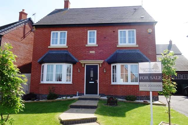4 Bedrooms Detached House for sale in Millfield Avenue, Countesthorpe LE8