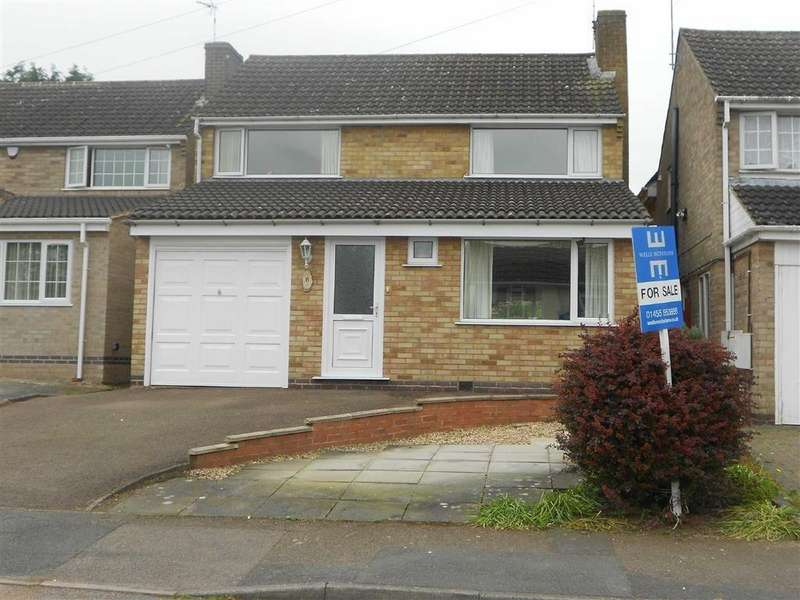 4 Bedrooms Detached House for sale in Marston Close, Oadby, Leiicestershire
