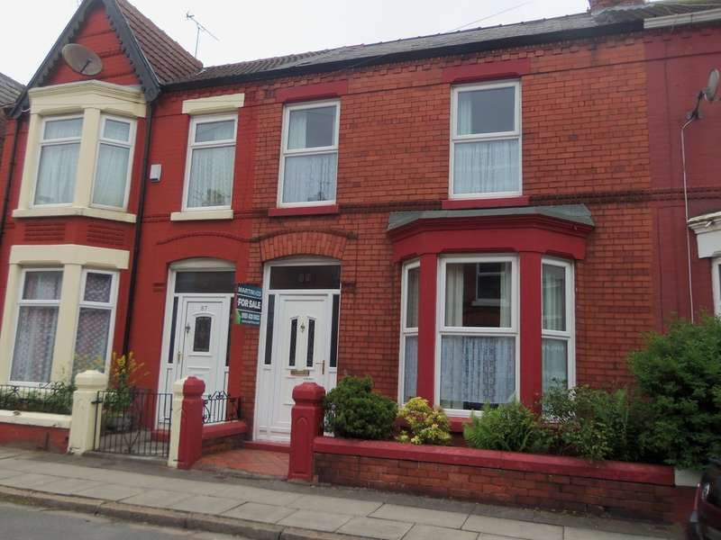 3 Bedrooms Terraced House for sale in Crawford Avenue, Mossley Hill, Liverpool