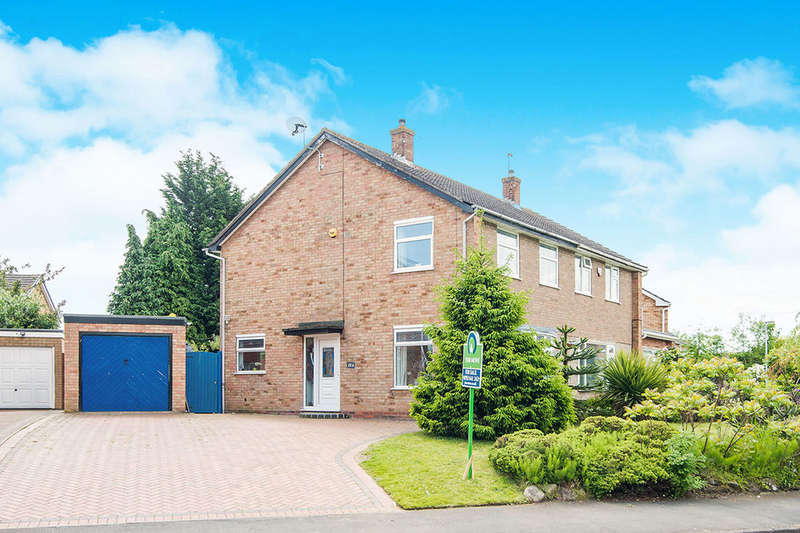 3 Bedrooms Semi Detached House for sale in Severn Drive, Wellington, Telford, TF1